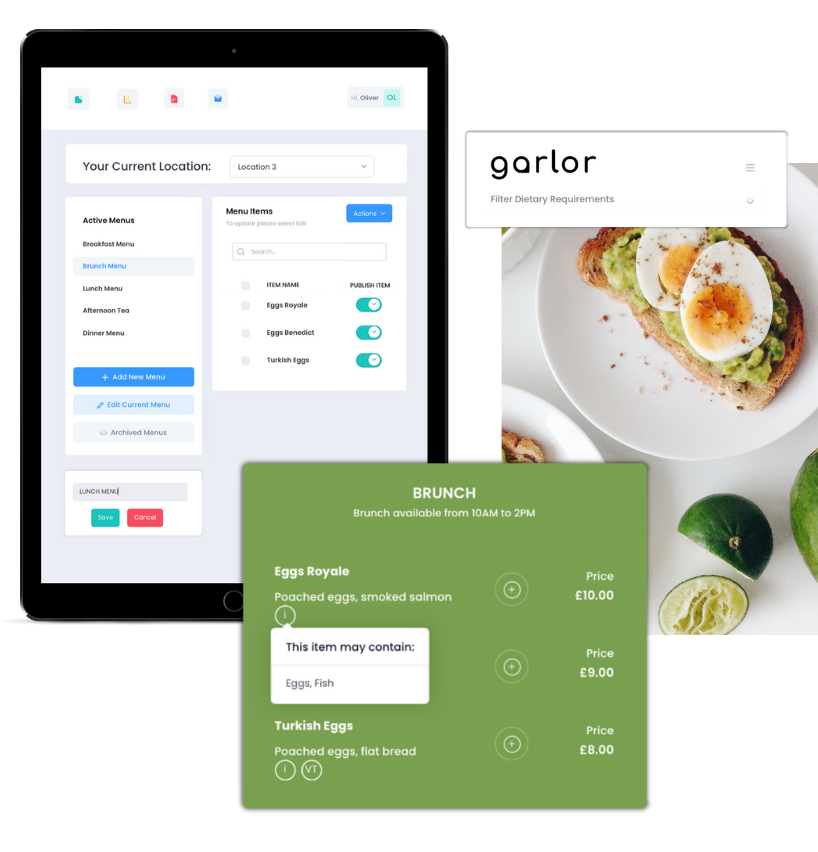 Digital solution for the hospitality industry